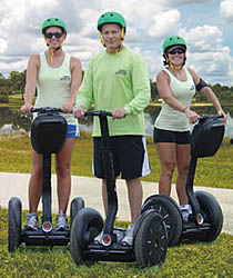 Segway tours of Okeeheelee Park in West Palm Beach FL